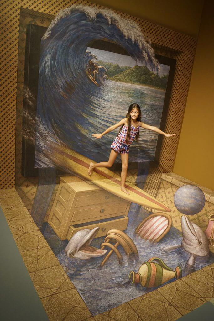 3d museum of wonders surf